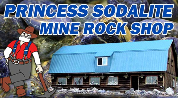 Princess Sodalite Mine banner